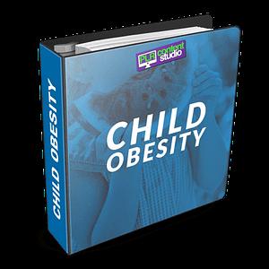child-weight-childhood-obesity-plr-content