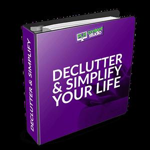 declutter-simplify-plr-content-package