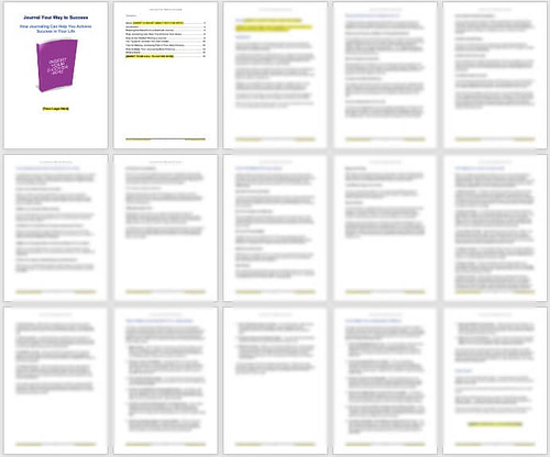 Journaling-plr-products-screenshot