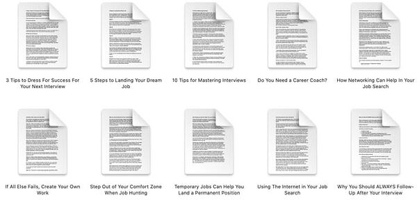 job-hunting-finding-a-job-plr-articles