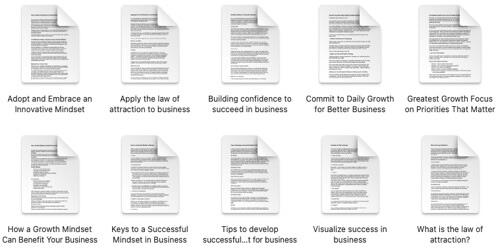 business-success-plr-articles
