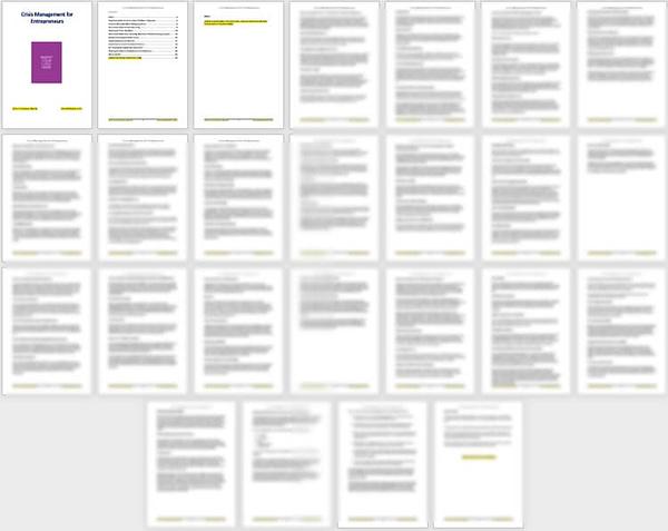 crisis-management-plr-report-pages