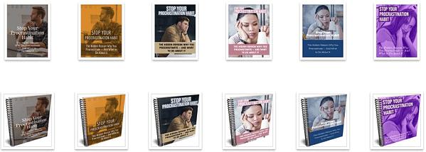 procrastination-plr-ebook-covers