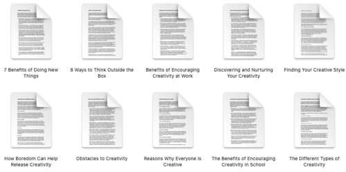 creativity-plr-articles