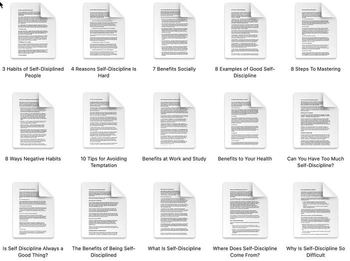 self-discipline-plr-articles