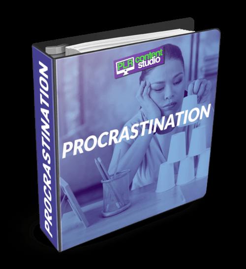 procrastination-plr-content-package