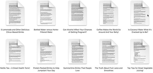 health-drinks-hydration-plr-articles